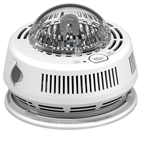 Primary Alert Smoke Alarm with Strobe Light for the Hearing Impaired