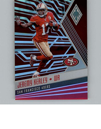 Verzamelingen Amerikaans voetbal 2017 Donruss Elite Red #89 Jeremy Kerley San Francisco 49ers Football Card
