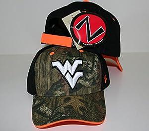 Zephyr West Virginia Mountaineers Scope Mossy Oak Camo Adjustable Hat by by Zephyr
