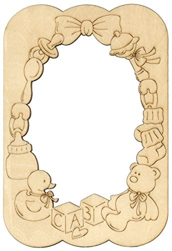 - Provo Craft Home Accents Etched Elegance - Laser Overlays Frame - Baby (Six Pack)
