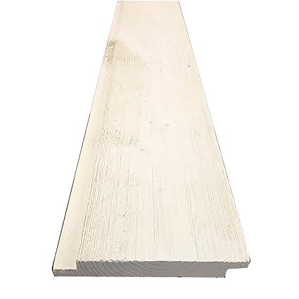 "1 In. x 6 ""x 8 ft. granero madera Preacabado cobertizo ("
