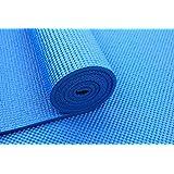 سجادة تمارين اليوجا PVC 4 ملم من تاسنج سبورتس - أزرق