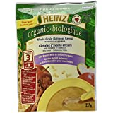 HEINZ Organic Whole Grain Oatmeal with Apple & Cinnamon - No Milk 227G x 6