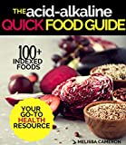 Alkaline Diet: the Quick & Easy Reference Guide for Beginners to the Effect of Foods on the Acid-Alkaline PH Body Balance, for Reversing Disease, Achieving Weight Loss and Restoring Glowing Health