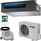 Pioner Ceiling Concealed Recessed Split Ducted Inverter+ Heat Pump System Set, 18000 BTU
