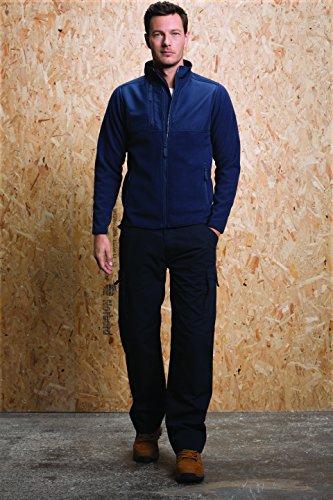 Kustom Kustom Kustom Grigio Workwear Uomo lge Cappotto Kk906 grp Graphite Kit Fleece r1wqrX