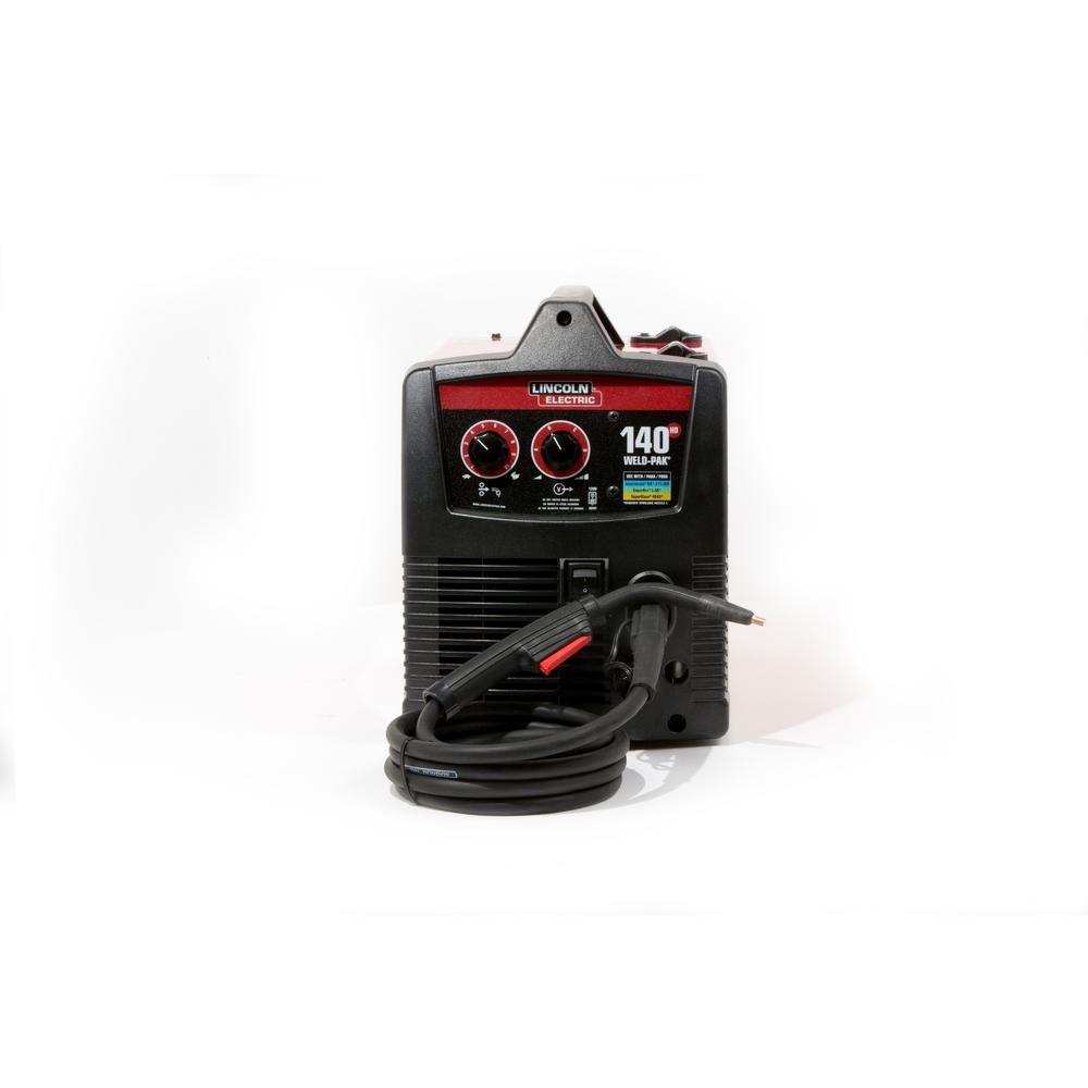 Lincoln Electric Weld Pak 140 HD Wire-Feed Welder K2514-1 - Mig ...