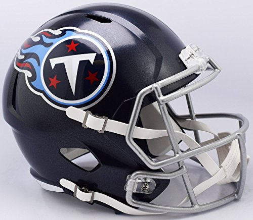 Tennessee Titans 2018 Logo Riddell Speed Mini Football Helmet - New in Riddell Box