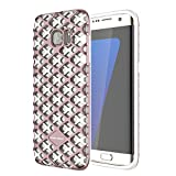 """AENMIL Heat Dissipation Case For Samsung Galaxy S7 5.1"""", 2-in-1 TPU + PC Shockproof Anti-Scratch + Fingerprint Mesh Grid Cover Shell For Samsung(Rose Gold)"""