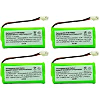Axiom 4-Pack Rechargeable Battery For BT1018 / BT1022 / BT1011 / BT183348 / BT18432 / BT283348 / BT800 / BT6010 / BT84342 / BY0736 / CBD8006