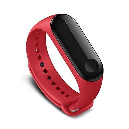 Awinner - Correas de repuesto coloridas e impermeables para reloj inteligente Xiaomi Mi Band 3 (
