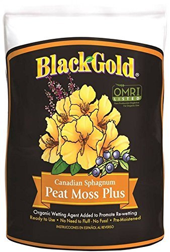 Black Gold Peat Moss Bag 8 Qt