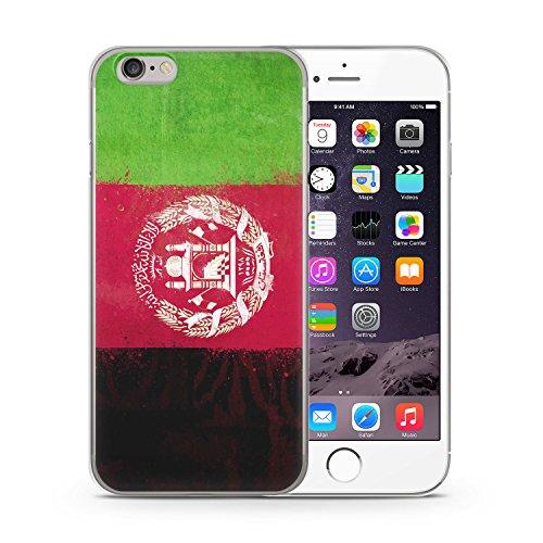 Afghanistan Grunge iPhone 6 & 6S SLIM Hardcase Hülle Cover Case Schutz Schale Flagge Flag