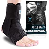 Zenith Ankle Brace, Lace Up Adjustable Support