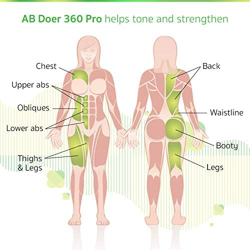 AB Doer 360 Kit, The Abs Workout Equipment for Total Core Exercise, Fat Burning, Toning and Fitness at Home 4