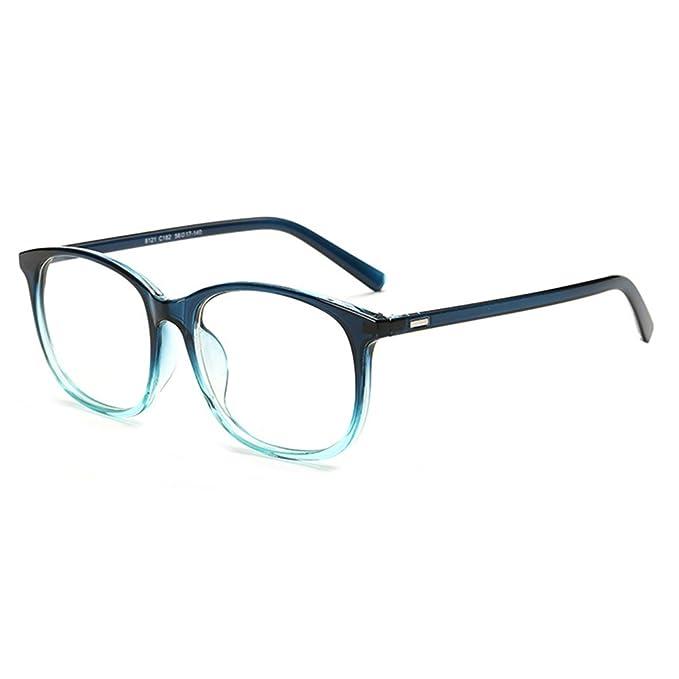 Männer Frauen Gläser - Klare Linse Brillengestell - Brillen + Brillenetui gratis - hibote #122815 S7rpzR