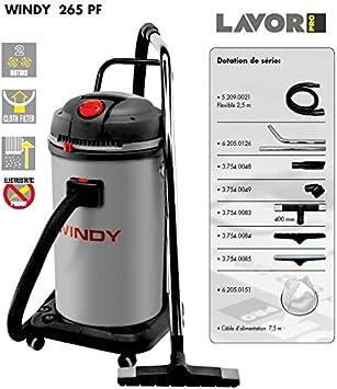 Lavor 8.239.0008 0008 - Aspirador profesional de polvo y líquido ...