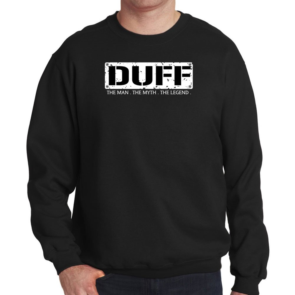 Sudadera Duff THE MAN THE MYTH THE LEGEND: Amazon.es: Deportes y aire libre