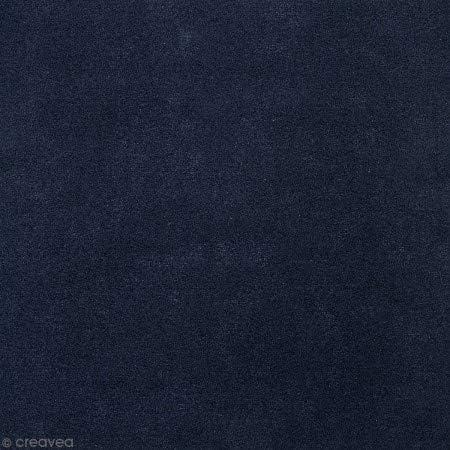 Tela de algodón a corte – Azul oscuro liso – 10 cm: Amazon.es: Hogar