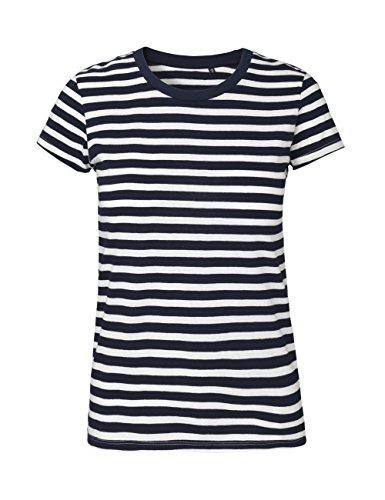 (NEUTRAL Ladies Fit T-Shirt, 100% Organic Cotton and Fairtrade Certified, Color Striped, Size M)