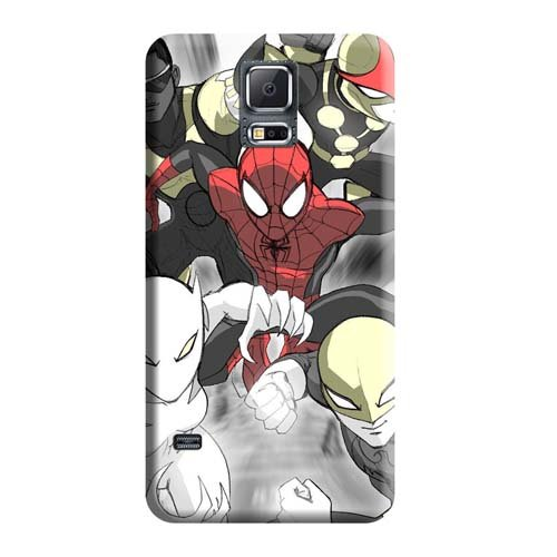 Bumper Dirtshock Phone Cases BackCovers Snap On Cases Spider Man and His Amazing Friends Samsung Galaxy Note 4
