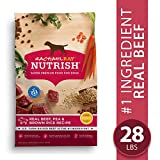 Image of Rachael Ray Nutrish Premium Natural Dry Dog Food, Real Beef, Pea, & Brown Rice Recipe, 28 Lbs