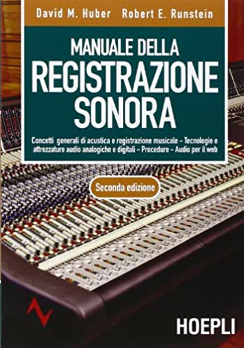 amazon it manuale della registrazione sonora david m huber rh amazon it manuale della registrazione sonora hoepli pdf download manuale della registrazione sonora pdf download