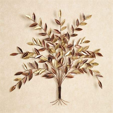 Touch of Class Autumn Elm Metal Wall Sculpture Multi Metallic One Size