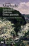 Soledades Galerias y otros Poemas, Antonio Machado, 8420660566