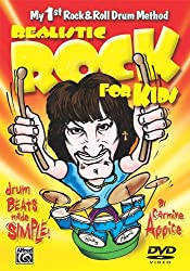Realistic Rock for Kids: Drum Beats Made Simple (My 1st Rock and Roll Drum Method) DVD