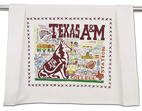Catstudio | Texas A&M Dish Towel, Tea Towel, Bar Towel or Hand Towel