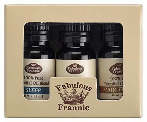 100% Pure Essential Oil Blend Set - Aches & Pains, Protect (Thieves), Sleep - Great for Aromatherapy