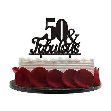 50Fabulous Birthday Cake Topper