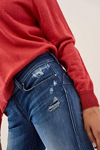Premium Wonder Jeans Push Azzuro Up Salsa Wash Slim OPXxqaww4