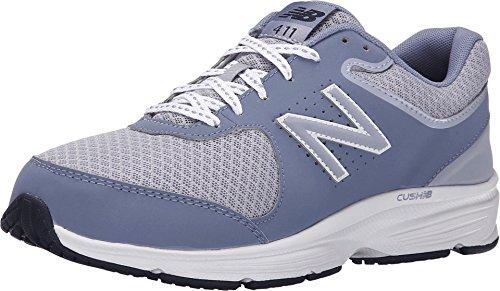 New Balance Women's WW411v2 Walking Shoe, Grey, 7.5 B US