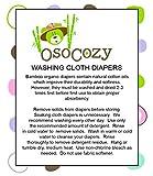 OsoCozy - Bamboo Organic Prefolds (6 Pack) - Ultra