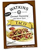 Watkins Gourmet Seasoning with Natural Spice Mix, Taco, 1.25 Ounce (Pack of 12)