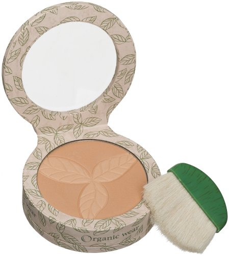 Physicians Formula Organic Wear 100% Natural Pressed Powder, Warm Beige Organics, 0.3-Ounces - Natural Origin Pressed Powder