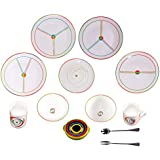SlimPlate System 15 Piece Step Portion Control Weight Loss Kit