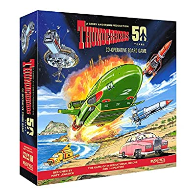 Thunderbirds Co-operative Board Game: Toys & Games
