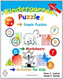 img - for Kindergarten Puzzles - Level 2: Simple Puzzles, Worksheets, And Activities For Kids book / textbook / text book