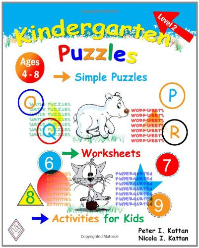Kindergarten Puzzles - Level 2: Simple Puzzles, Worksheets, And ...