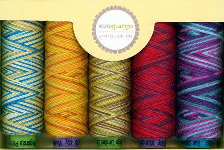 Sue Spargo LIMITED EDITION 5-Spool Thread Set - Fall Collection 2016 by Sue Spargo