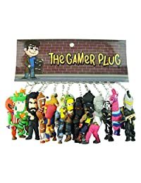 The Gamer Plug Double Sided 3D PVC Keychain 3.75 Inches
