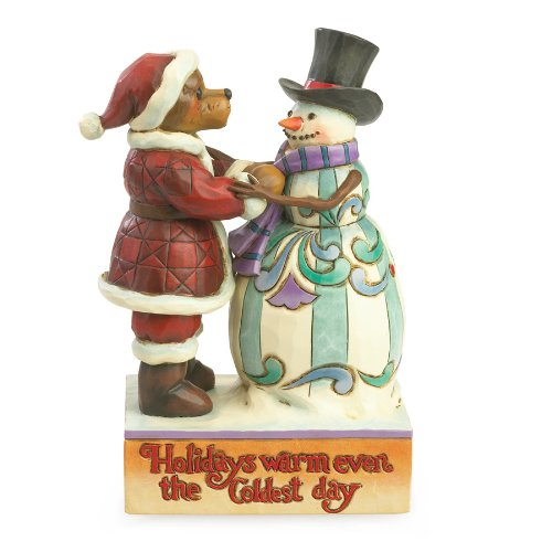 Jim Shore and Boyds Bears Holidays Warm Even The Coldest Day Christmas - Boyds Shore Jim
