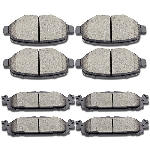 - SCITOO Brake Pads Kits, Front Rear Disc Brakes Pads Set fit 2011-2016 Ford Explorer,2009-2014 Ford Flex,2010-2012 Ford Taurus,2009-2012 Lincoln MKS,2010-2014 Lincoln MKT