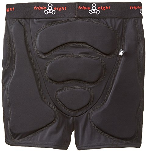 Triple Eight Roller Derby Bumsaver (Black, Small)