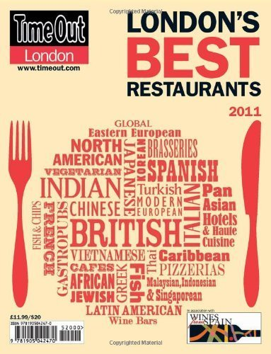 Time Out London's Best Restaurants 2011 (2011-01-01)
