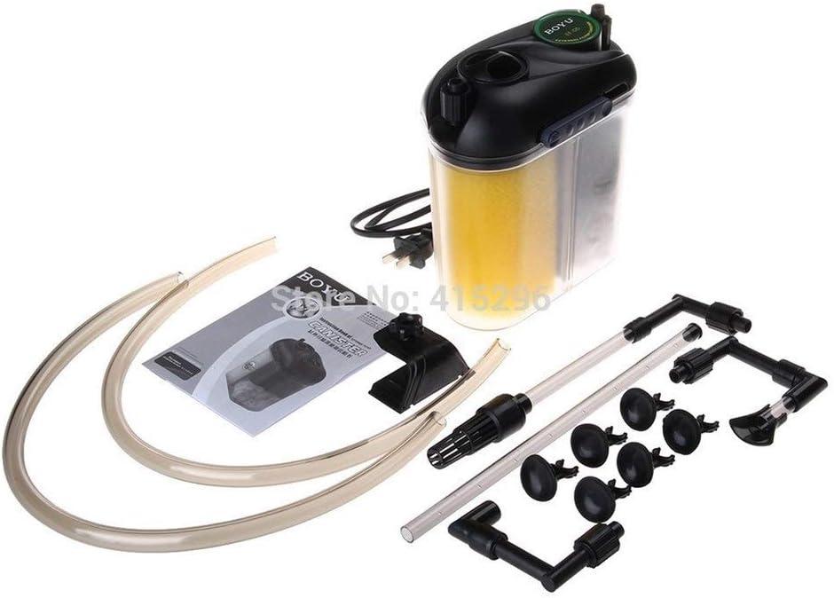 Lijincheng Filtrar 05 Tanque de Peces acuáticos bioquímico Filtro Externo purificador de Agua Cascada Agua circulante (Color : EF 05, Size : EU Adapter Plug): Amazon ...