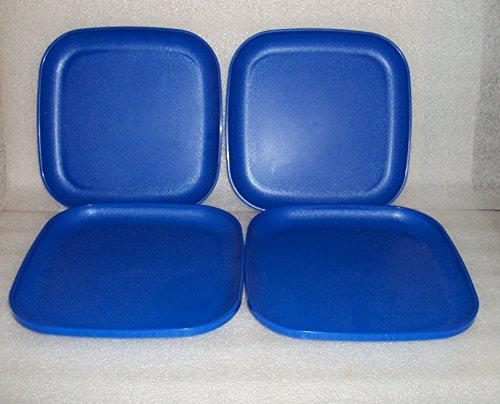 Tupperware 8 Inch Square Plates